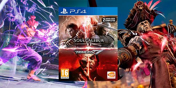 Chollo Pack Tekken 7 + SoulCalibur VI para PS4