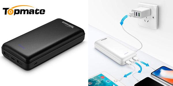 Chollo Power Bank TopMate de 20.000 mAh con USB-C