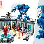 Set Iron Man: Sala de Armaduras de LEGO Super Heroes con 6 minifiguras en oferta