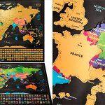 Chollo Set de mapas rascables Wanderlust
