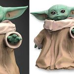 Chollo Figura Baby Yoda de Star Wars Black Series