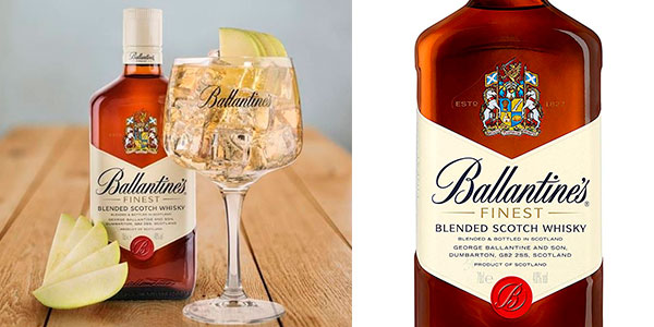 Chollo Whisky Ballantine's Finest de 1.000 ml