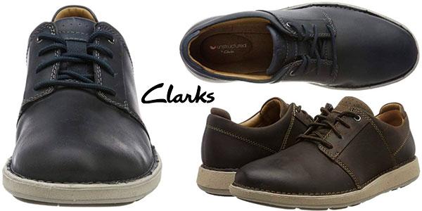 Chollo Zapatos Clarks Un Larvik Lace de tipo Derby para hombre