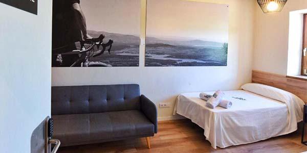 Ciclolodge Nevero Loyola alojamiento idóneo para ciclistas relación calidad-precio alta