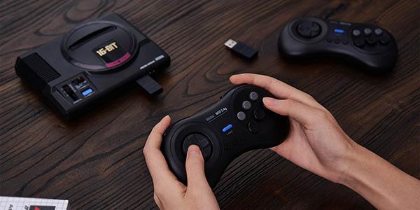 Gamepad inalámbrico 8BitDo M30 para SEGA Mega Drive Mini en Amazon
