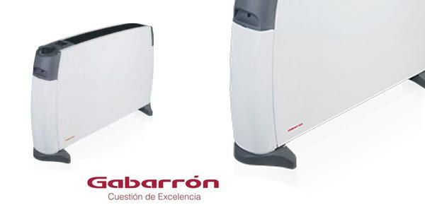 Convector portátil Gabarrón CP-2000 con 3 niveles de potencia y termostato de seguridad chollo en Amazon