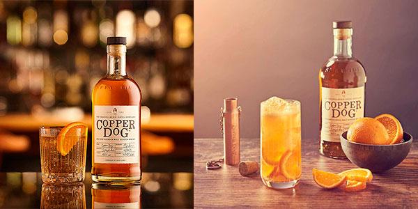 Whisky de malta Copper Dog de 700 ml barato