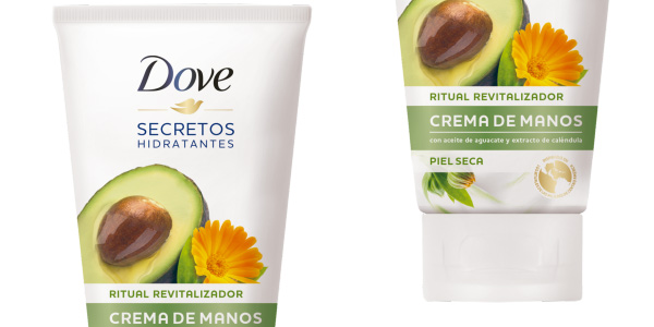 Pack x6 Crema de Manos Dove con Aceite de Aguacate y Extracto de Caléndula de 75 ml/ud chollo en Amazon