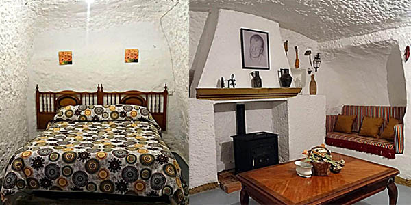 Cueva Navarro en Gorafe alojamiento económico