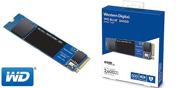 Disco SSD WD Blue SN550 NVMe M.2