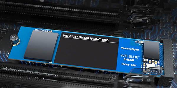Disco SSD WD Blue SN550 dNVMe M.2 barato