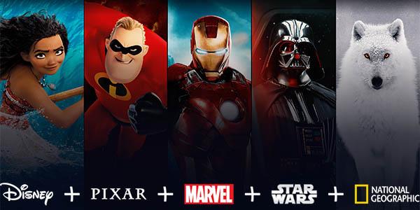 Lanzamiento de Disney+ en España