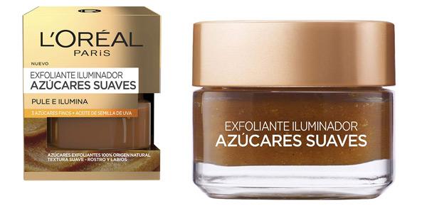 Exfoliante facial Iluminador L'Oreal Paris Dermo Expertise Azúcares Suaves de 50 ml barato en Amazon