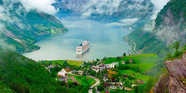 Fiordos noruegos pack de viaje con cruceros chollo