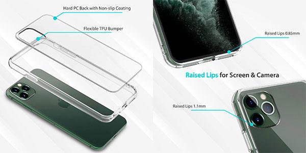 """Funda protectora Syncwire para iPhone 11 Pro de 5,8"""" barata"""