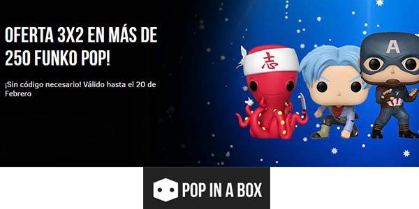 Funko Pop Popinabox 3x2 figuras promoción
