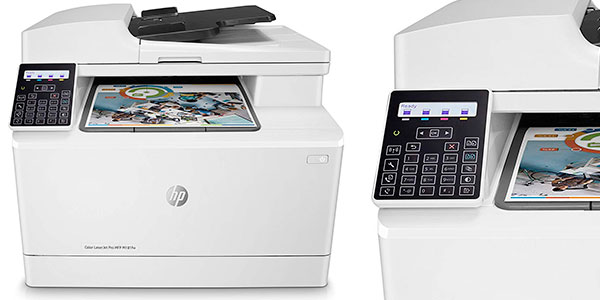 Impresora a color multifunción HP LaserJet Pro M181fw con Wi-Fi barata