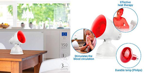 Lámpara de calor infrarrojo Medisana IR 100 de 100 W barata
