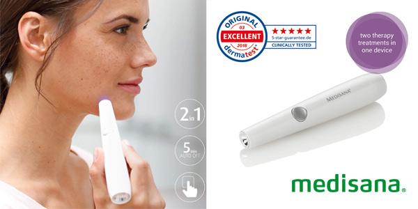 Pluma de fototerapia anti-acné Medisana DC 300 barata en Amazon