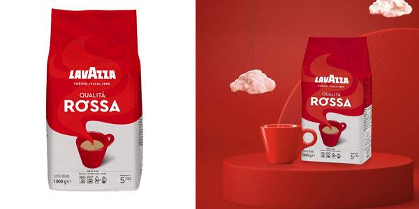 Lavazza Rossa café en grano barato