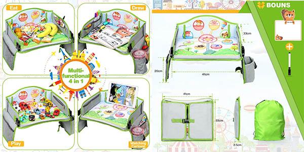 Lenbest mesa para niños para usar en el coche de relación calidad-precio estupenda