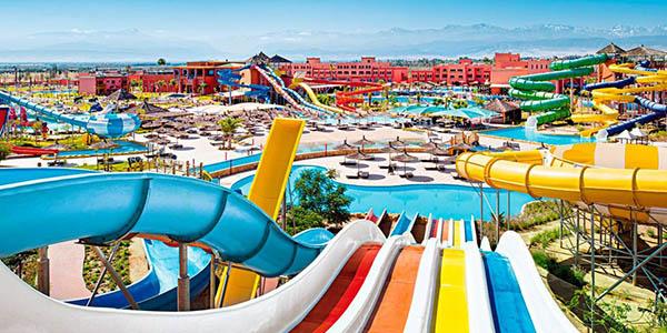 Marrakech vacaciones familiares en parque Aqua Fun Club chollo