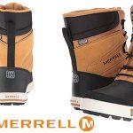 Merrell ML-Snow Bank 2.0 Waterproof botas de nieve infantiles baratas