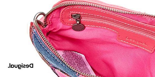 Mini bolso monedero Desigual 19wgxw01 para niñas chollo en Amazon