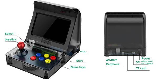 """Mini Recreativa Arcade con pantalla 4,3"""" barata"""