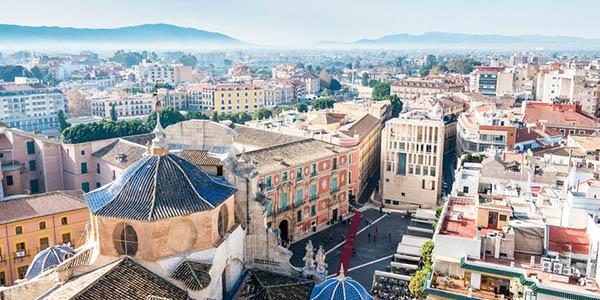 Murcia escapada relax Sercotel oferta