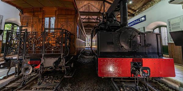 Museo del Ferrocarril Riotinto minas inglesas de Huelva oferta escapada