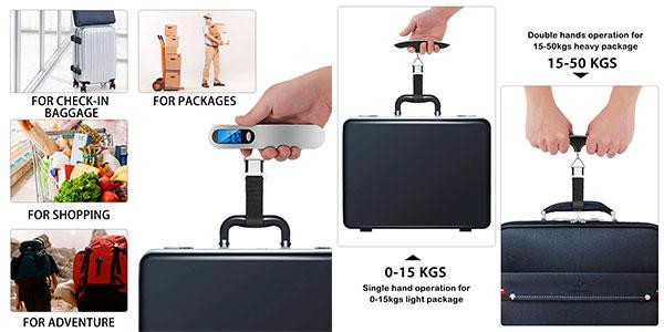 Báscula digital Newdora para equipaje barata