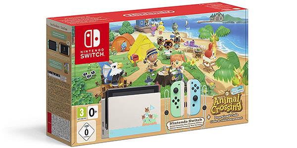 Consola Nintendo Switch edición Animal Crossing New Horizons (Edición Limitada)
