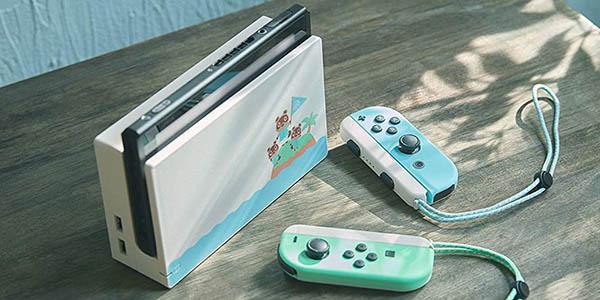 Consola Nintendo Switch edición Animal Crossing New Horizons (Edición Limitada) barata