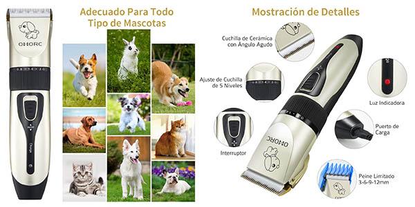 Omorc kit cortapelos con peine para mascotas oferta Amazon