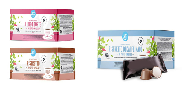 Comprar Pack x30 cápsulas Amazon Happy Belly Ristretto Decaffeinato compatibles con Nespresso chollo en Amazon
