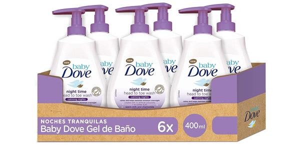 Pack x6 Loción para bebés Baby Dove Noches Tranquilas barato en Amazon