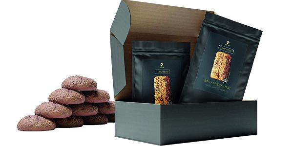 Pack Mezcla x10 Panes sin cereales Nutringo para hornear pan de proteínas barato en Amazon