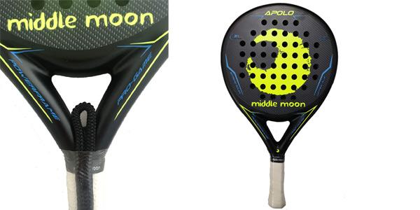 Pala de pádel Middle Moon Apolo 2020 barata en Amazon