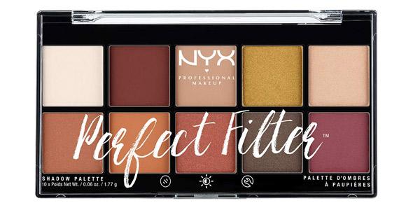 Paleta de sombras de ojos NYX Professional Makeup Perfect Filter barata en Amazon