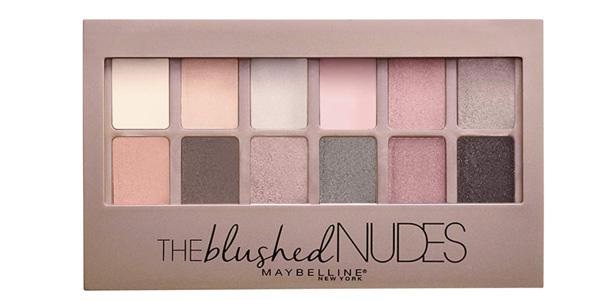 Paleta de Sombras de Ojos Maybelline New York The Blushed Nudes barata en Amazon