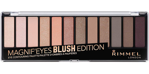 Paleta de Sombras Rimmel London Magnifeyes Palette Blush Edition barata en Amazon
