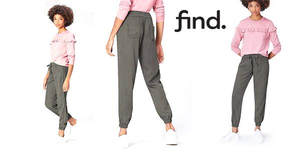Pantalones Amazon Find Utility para mujer baratos en Amazon