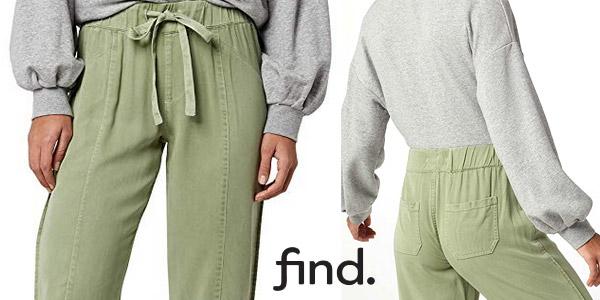 Pantalones Amazon Find Utility para mujer chollo en Amazon