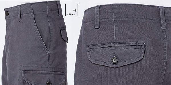 Pantalones Cortos Amazon MERAKI POETME005 para hombre chollo en Amazon