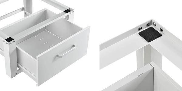 Pedestal para lavadora con cajón de almacenamiento chollo en Amazon