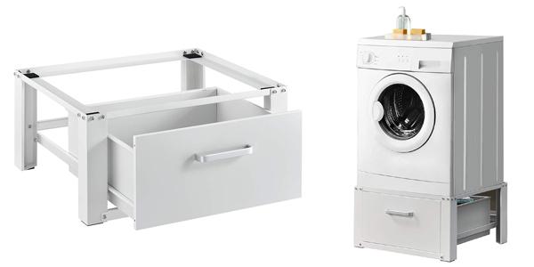 Pedestal para lavadora con cajón de almacenamiento barato en Amazon