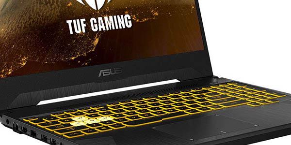 """Portátil Asus TUF Gaming FX505GT-BQ025 de 15.6"""" FullHD barato"""