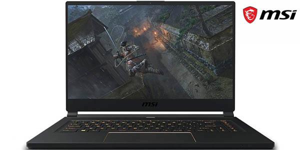 Portátiles gaming ultrafinos MSI GS65 Stealth Full HD 144 Hz