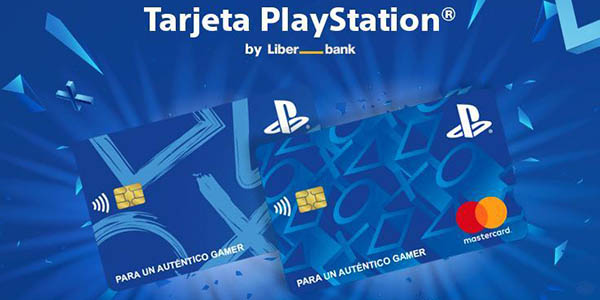 Tarjeta Playstation de LiberBank con ventajas para los gamers